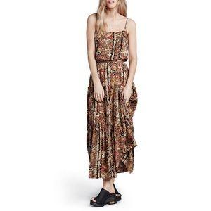 Free people Valerie' Floral Blouson Maxi Dress